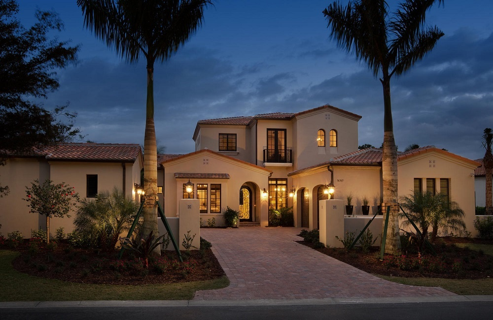 The Belita, a luxury villa in the exclusive new home community of Mediterra
