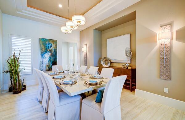 The table setting of the Bettina Mediterra Home