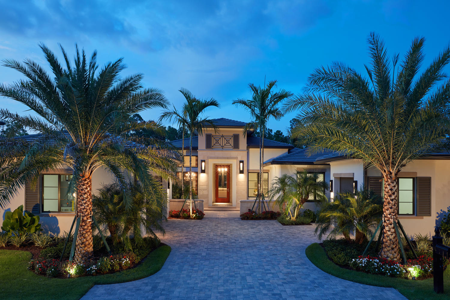 The Carmela is one of the many luxury homes available in Mediterra Naples