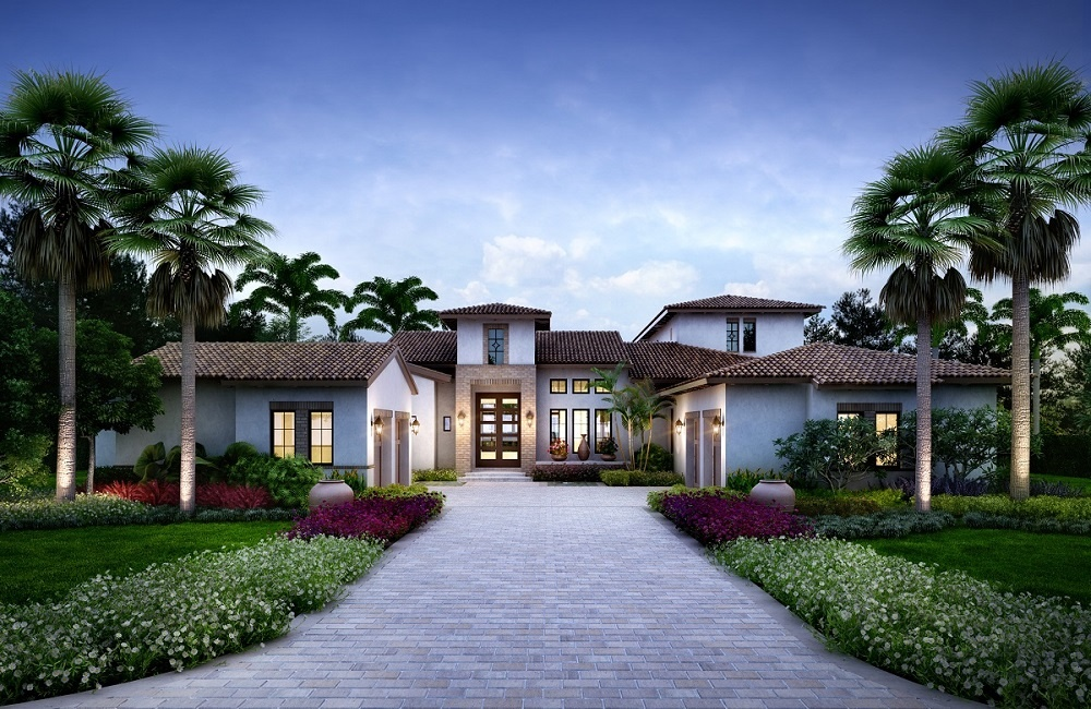 Luxury Homes: The Catalina in Cortile at Mediterra