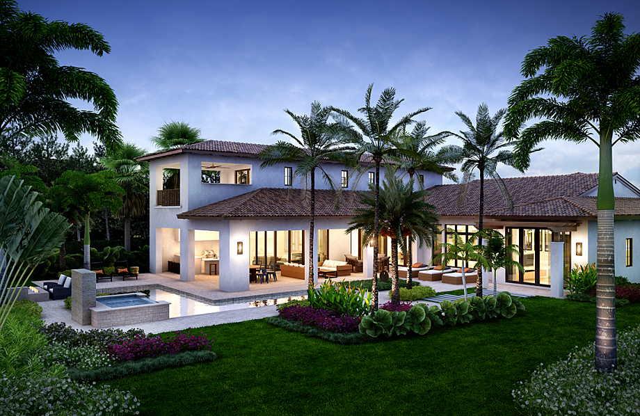 Find your ideal custom outdoor living spaces with our Mediterra homes for sale