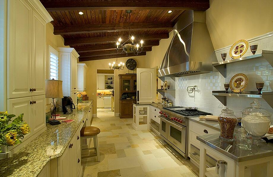 The Cordoba features a luxury home design with two kitchens