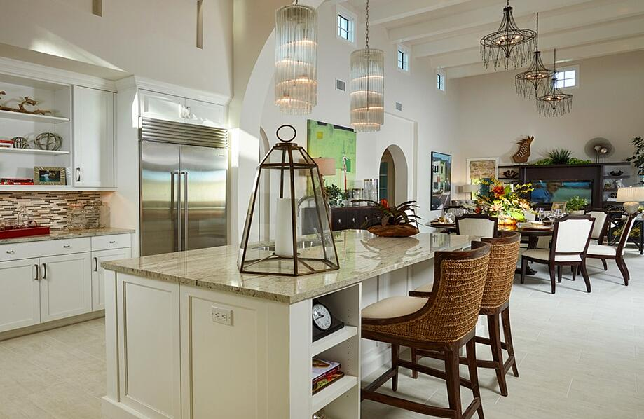 The Eloro Villa Home's Kitchen