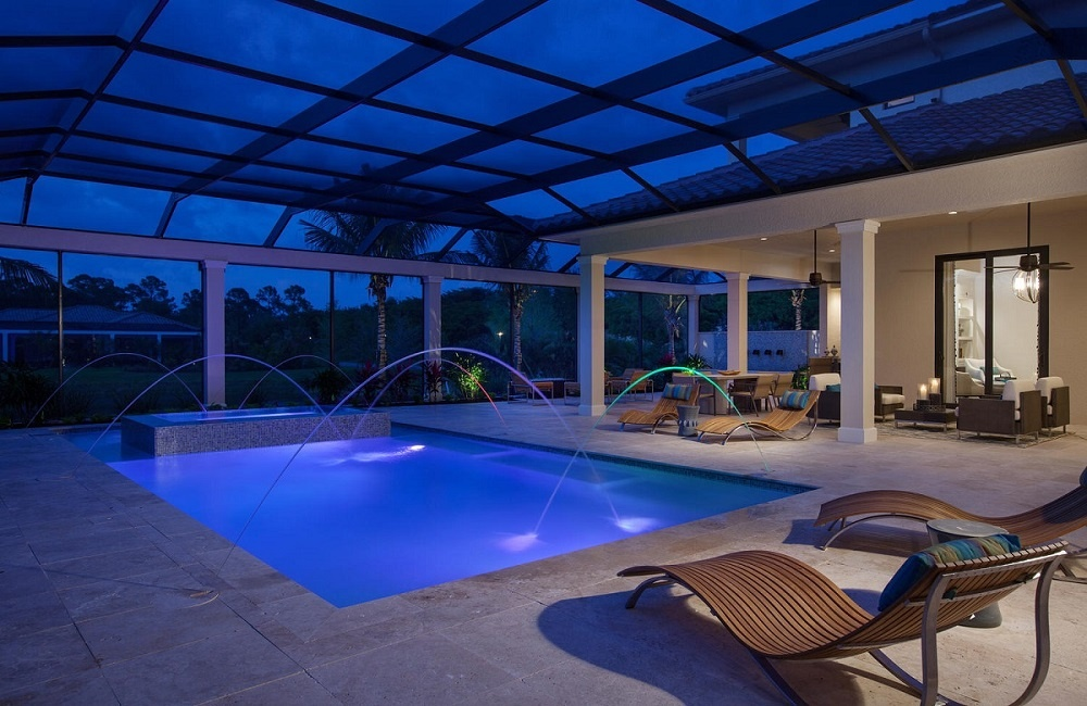 A well-designed outdoor living area will accentuate your Naples lifestyle
