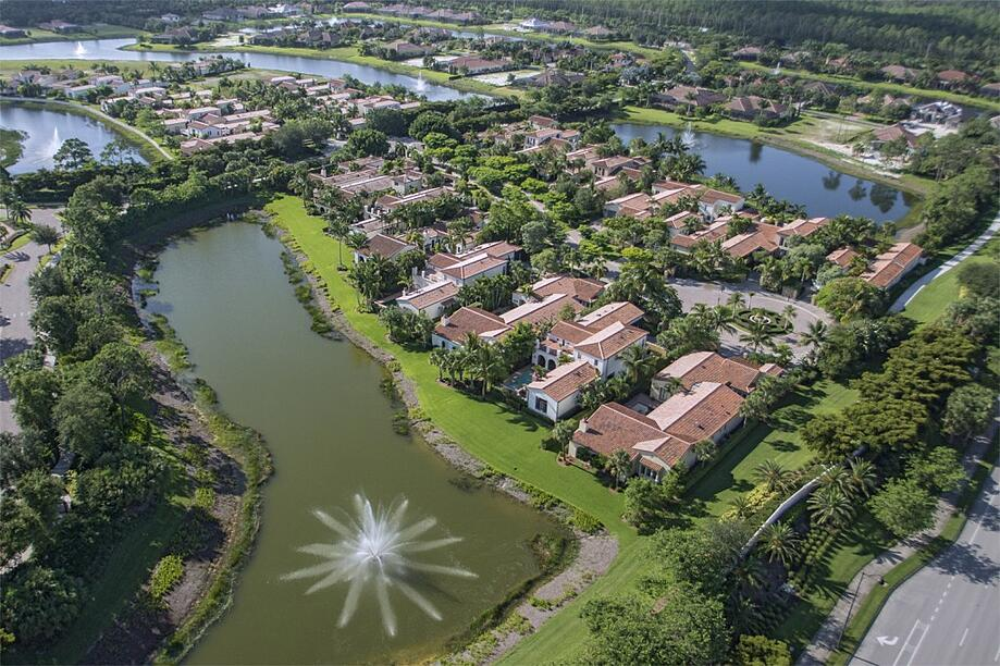Aerial of Mediterra: A Naples Golf Community