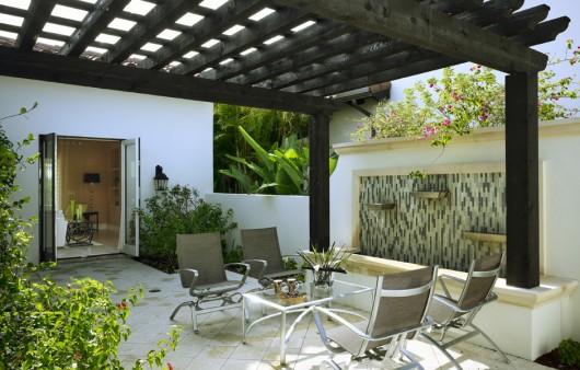Courtyard Villa Home