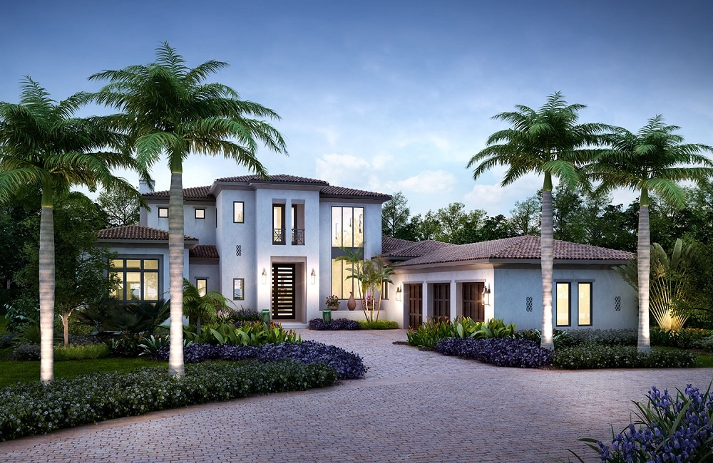 Luxury Homes: The Sardinina in Mediterra, an exclusive new home community in Naples FL