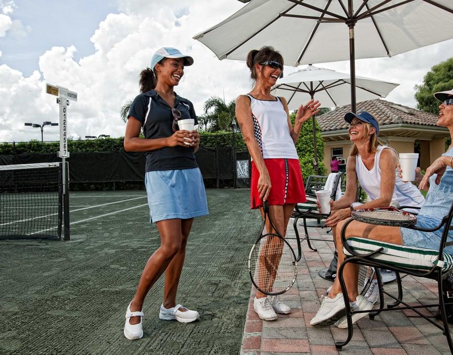 Luxury Amenities: Enjoy Mediterra's Award-Winning Tennis Program