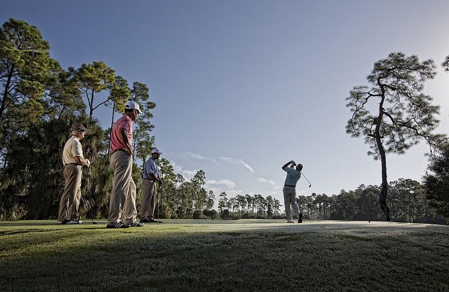 Enjoy two Tom Fazio-designed golf course at the Club at Mediterra