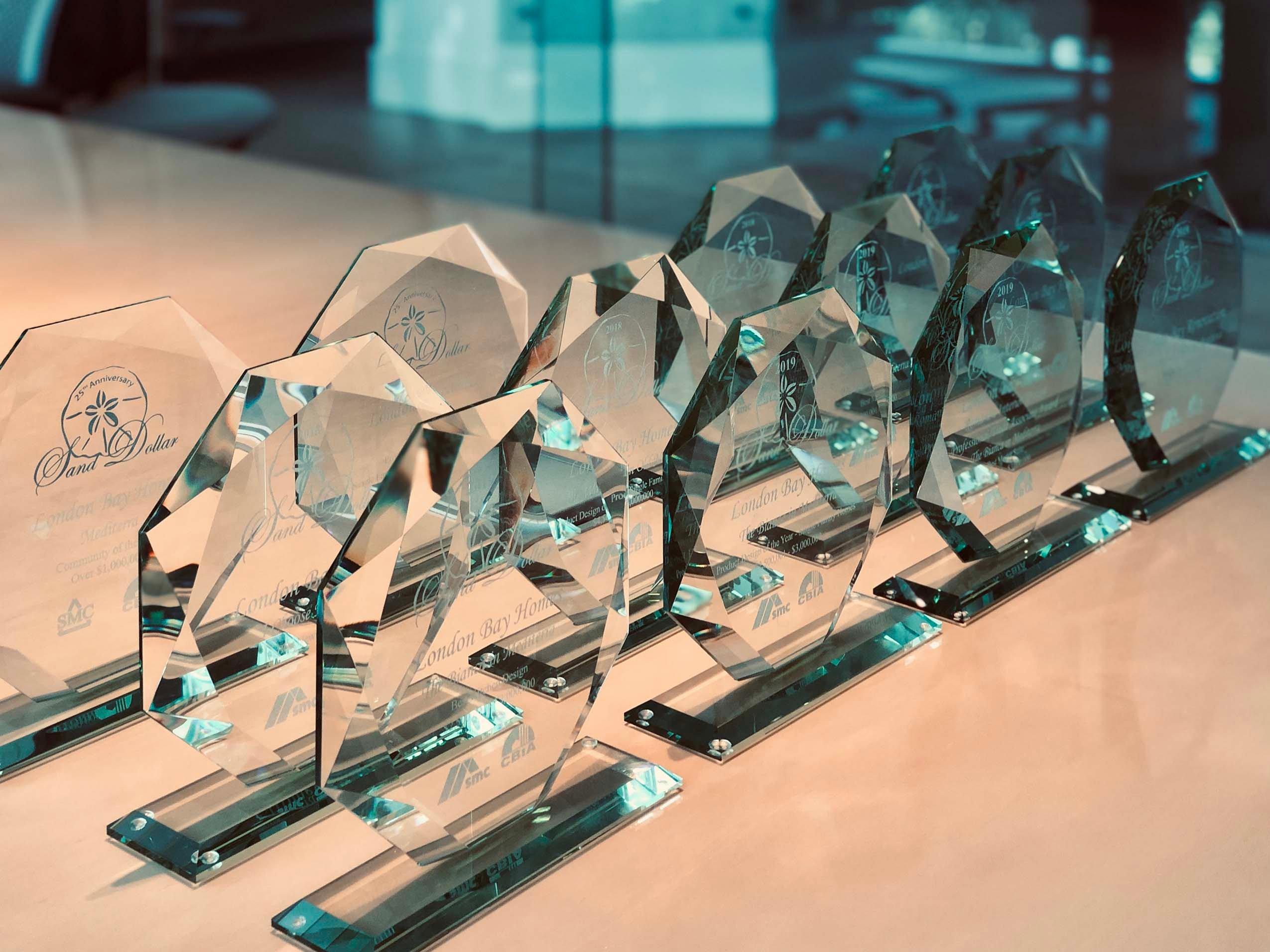 London Bay Homes honored with 12 awards at 2019 Sand Dollar Awards