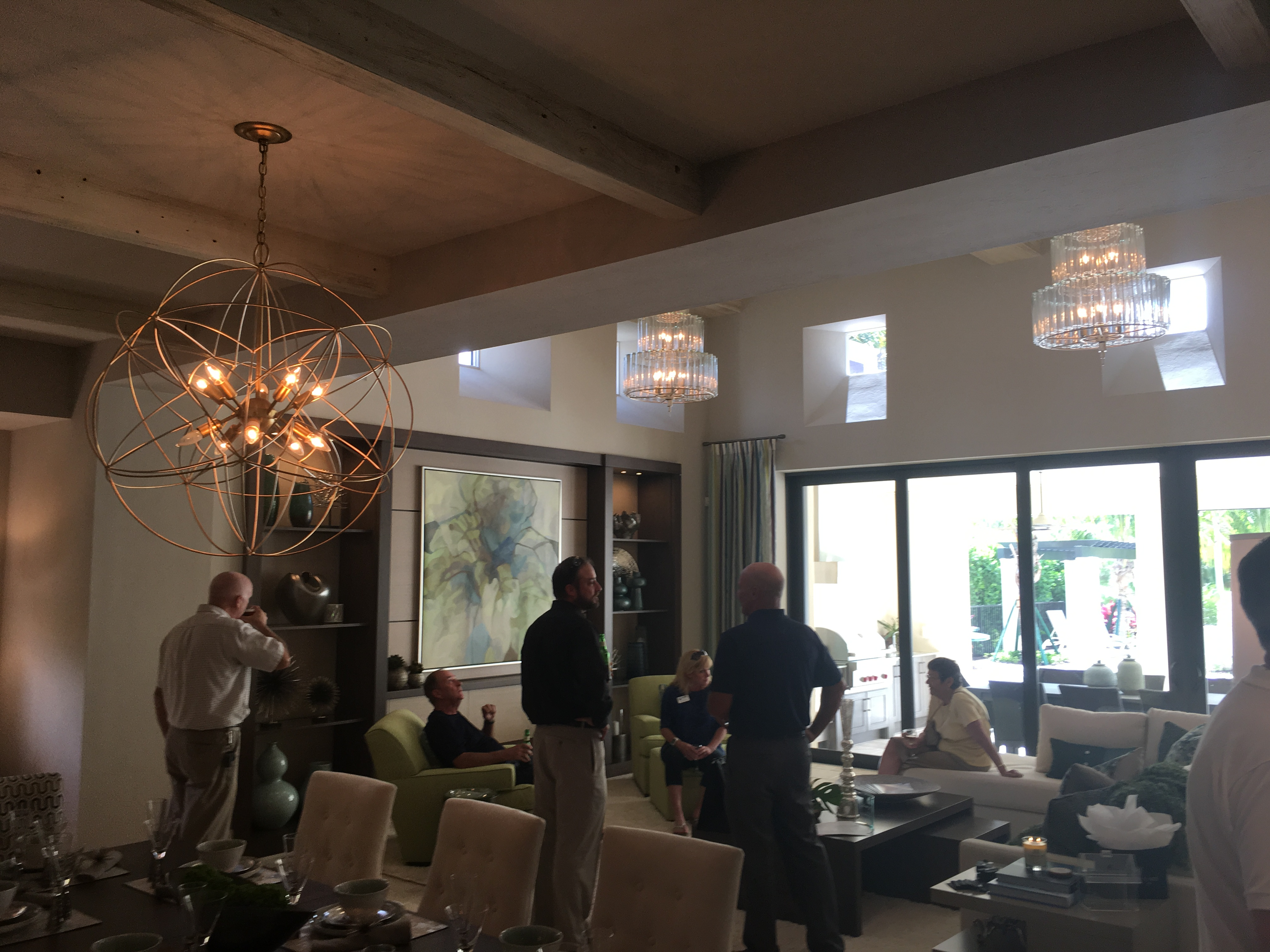 Luxury Model Homes- The Capriano in Lucarno was the host site for a REALTOR® event..jpg