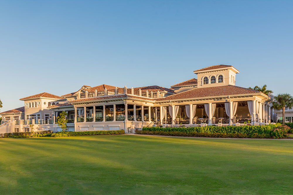Mediterre Clubhouse Rear Elevation