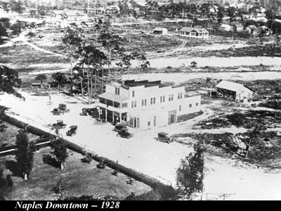 Naples FL Downtown in 1928