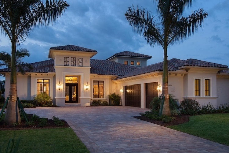 The Isabella Two-Story is a luxury estate home in our luxury home community in Naples FL